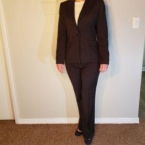 Anne Klein Pin Striped Suit Size 6